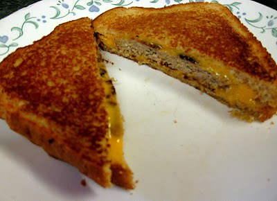 Grilled Cheese Burger: Debbi Does Dinner...Healthy and Low Calorie ...