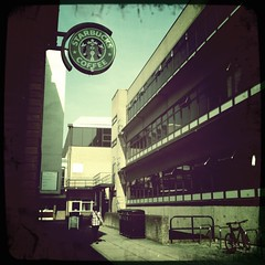 Campus life: starbucks