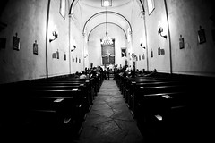 Wedding Rehearsal at Mission San Juan in San Antonio Texas