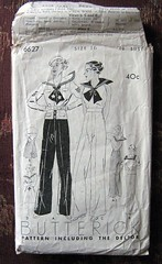 1930s sailor outfit halter