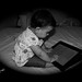 Sarah Vs. iPad by Heyam / هيام