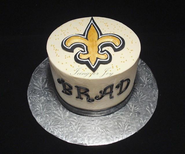 Drew Brees Birthday Cake