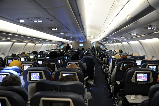 Delta Air Lines Airbus A330 Cabin (N860NW) DSC4851