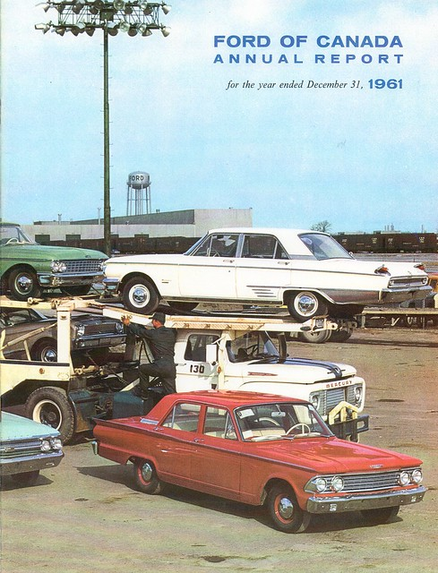 ford motor company of canada 1961 annual report c2