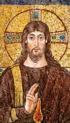 Christ in majesty - detail