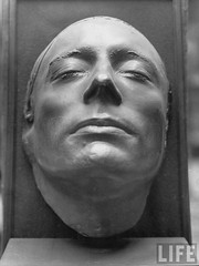 Death mask of John Keats, 1821