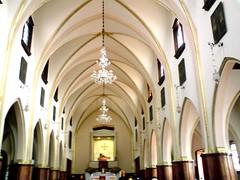 monserrate church inside