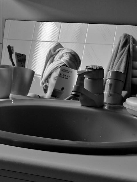 la salle de bain de jean philippe toussaint by fred v