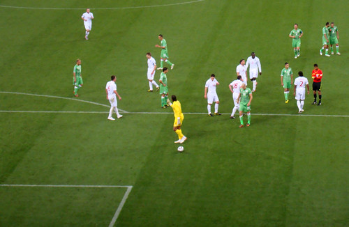 2010 FIFA World Cup South Africa – England vs Algeria at Cape Town Stadium