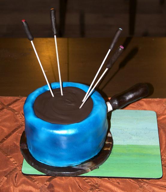 fondue cake