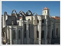 Lissabon 2010- Museu Arqueológico do Carmo (Archäologisches Museum in der Carmo Kirche)