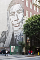 Mural downtown Los Angeles