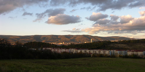 sunset panorama mountains czech ore erzgebirge teplice hory mywinners teplitz krušné