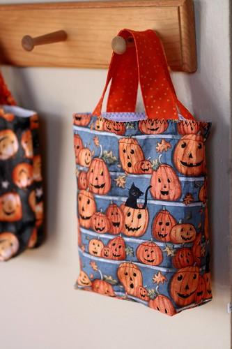 fiona's trick-or-treat bag