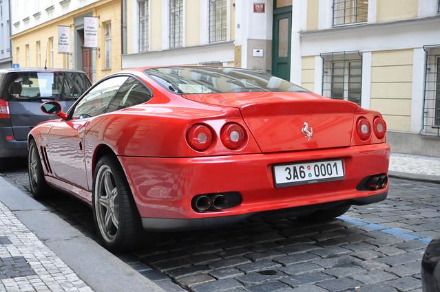 Ferrari 575M Maranello (F133 EB)