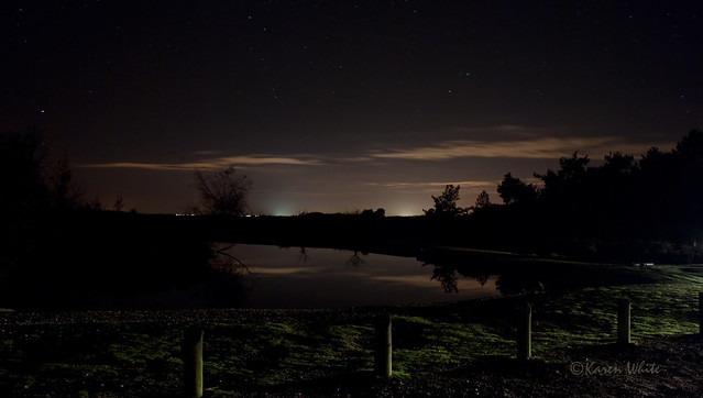 starry night at cadmans pool