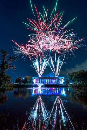 NOLA City Park Fireworks