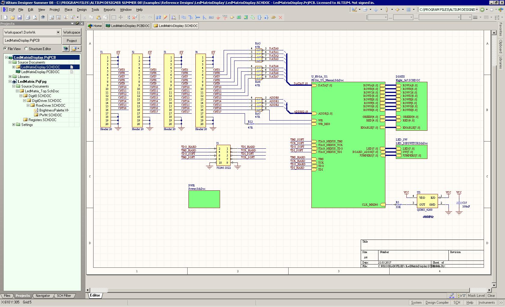 working with Altium Designer Summer 7.1 full license