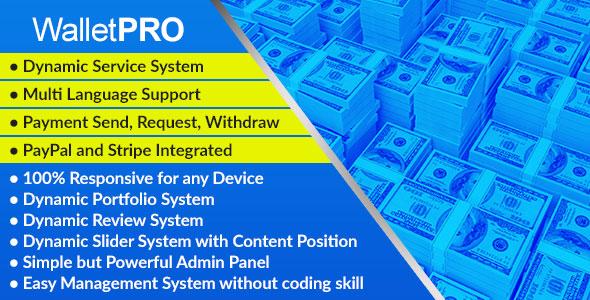 WalletPRO – Dynamic Payment Gateway