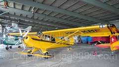 Aviat HuskyA-1A Propeller Flugzeug (HB-KME), Flughafen Luzern-Beromünster, Schweiz