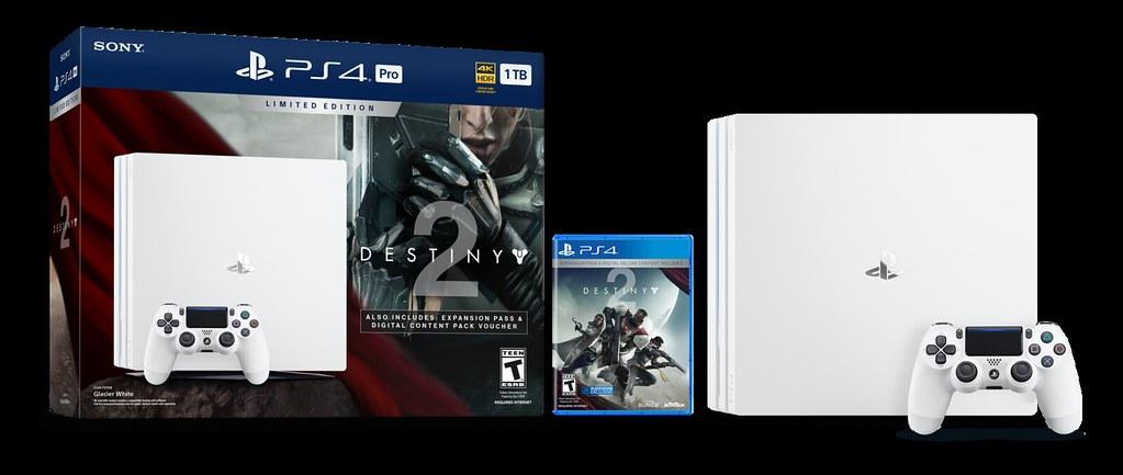 Destiny 2 Limited Edition PS4 Pro Bundle