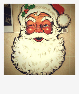 Santa with Exploding Testicle Cheeks