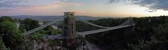 Bristol - Clifton Suspension Bridge PANORAMA