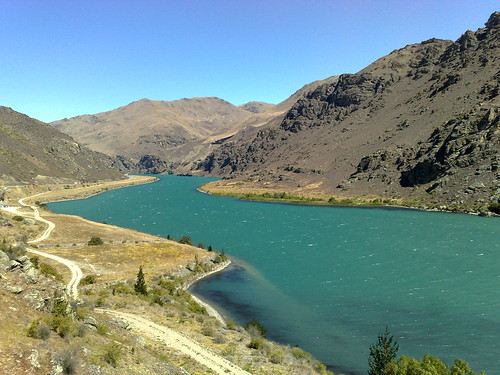 newzealand lake nz dunstan