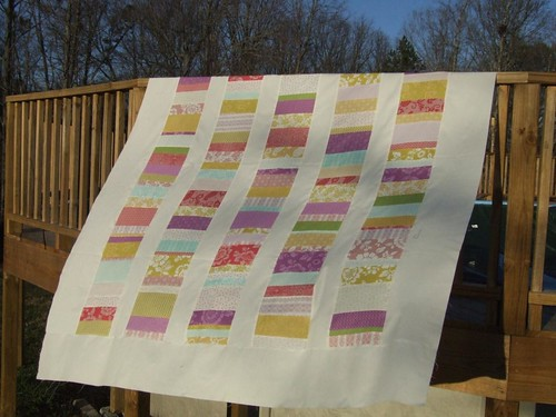 2009 coin quilt piece-a-long quilt