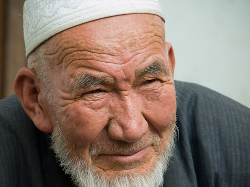 Old Uyghur man