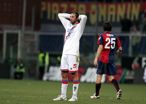 Genoa-Catania: precedenti in serie A$
