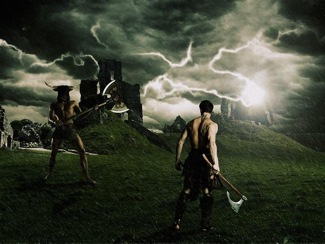 La batalla contra el minotauro - Daniel Rocal