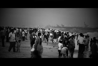 Image of Annie Besant Statue. sea india holiday beach marina relax crowd madras marinabeach chennai tamilnadu