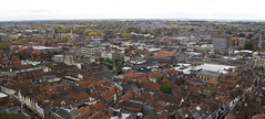 town, bird's-eye view, suburb, cityscape, residential area, skyline, aerial photography, city, neighbourhood, panorama,