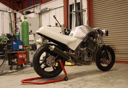 Mk 1 Motodd taking shape in the workshop by keithnairn