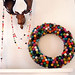 felted-ball-pom-pom-wreath