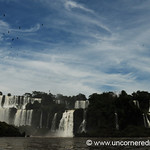 Someone Drew the Sky With Magic Marker - Iguazu Falls