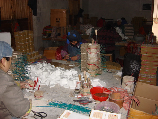factory workers in china firework factory