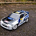 Tamiya RC Ford Escort WRC Finished All Graphic'd Up Front Quarter Shot by NWVT.co.uk