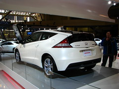 automobile, automotive exterior, wheel, vehicle, automotive design, auto show, honda, honda cr-z, land vehicle, supercar, sports car,