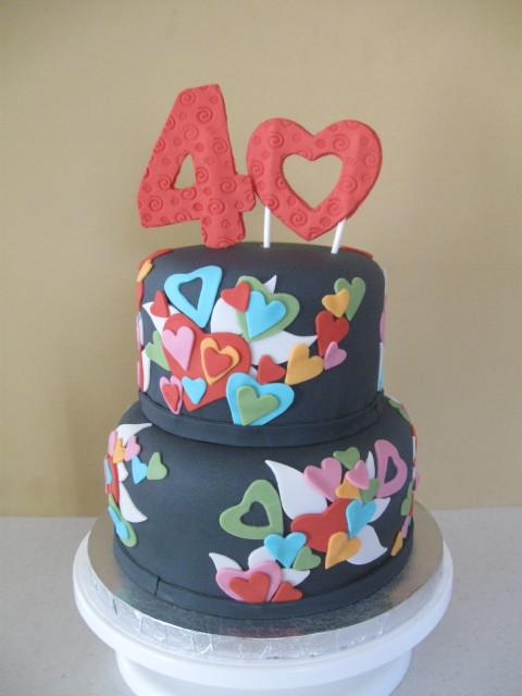 Valentine Birthday Cake  Valentine birthday themed cake. Ca ...