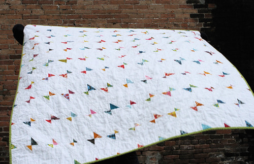 the flying farfalle quilt
