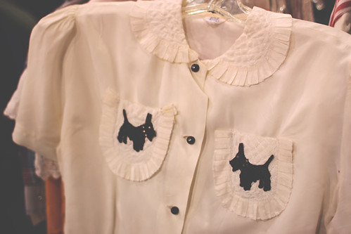 Scotty Dog Blouse