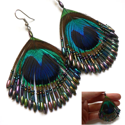 Ladiesfashion The Way To Make Bead Earrings With Real