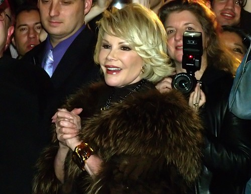 Joan Rivers at Musto's 25th Anniversary