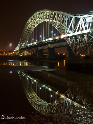 uk longexposure bridge cheshire jubilee runcorn widnes