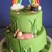 Kennedy's 1st Birthday Cake by disneychick