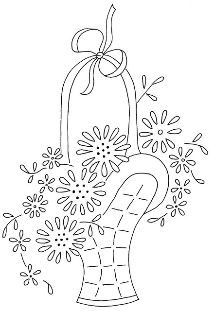 How To Draw A Beautiful Flower Basket : Flower basket flickr photo sharing