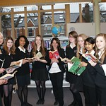 Grand opening of the new library at Hornsey School for Girls