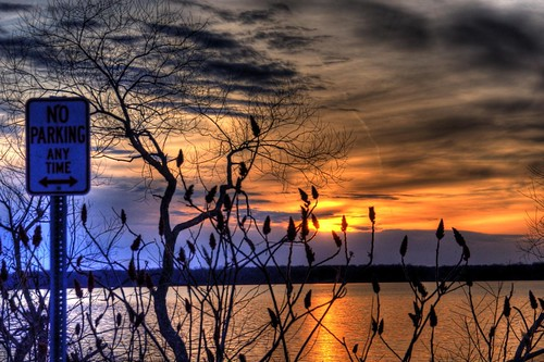 sunset ohio water hdr nikond90 3shotbrkt 24120mmnikonlens